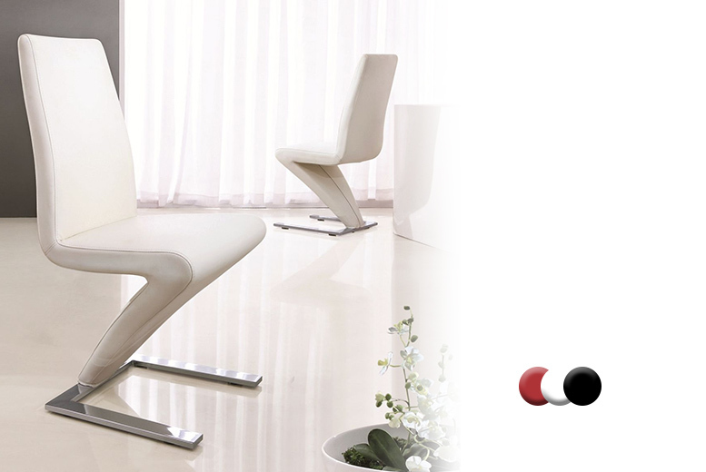 1 or 2 modern z dining chairs