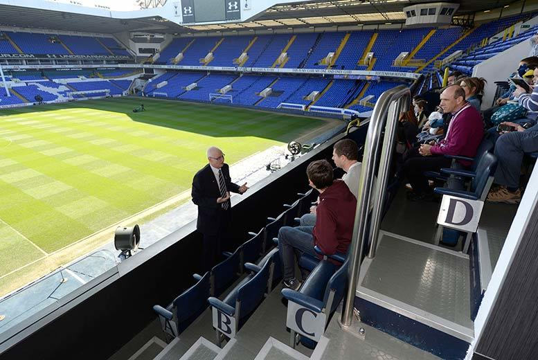 £40 for a Tottenham Hotspur's White Hart Lane football stadium tour for two people from Buyagift - see the hall of fame and walk through the players' tunnel!