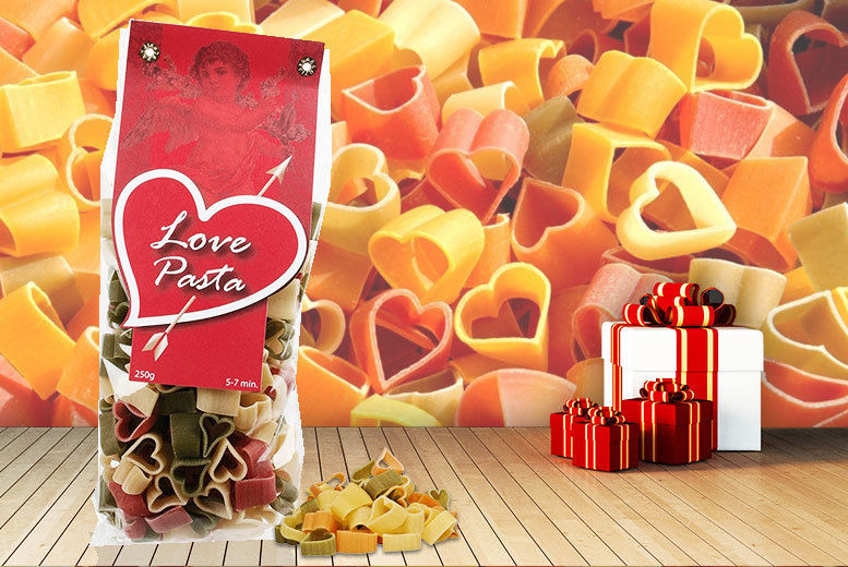 Love-Shaped Pasta for £3.99