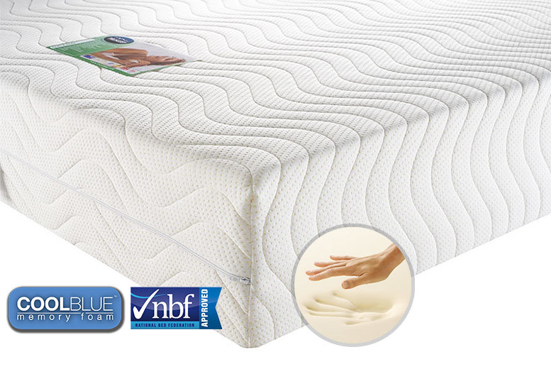 All Seasons Ortho Coolblue & Memory Foam Mattress