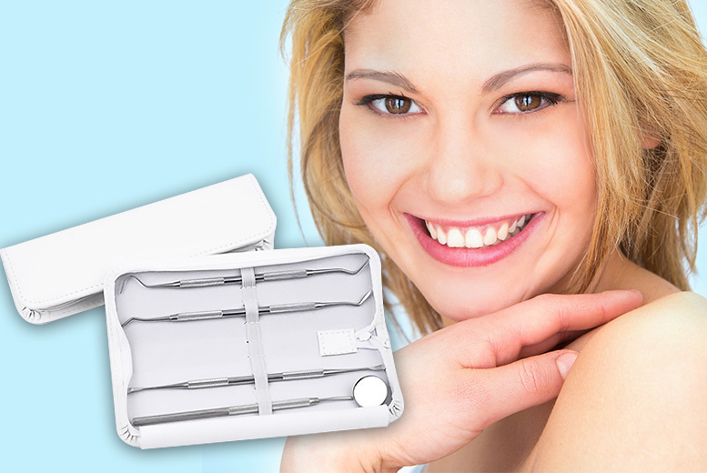 4pc Dental Hygiene Travel Kit for £5.00