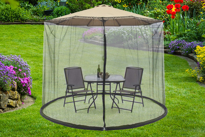 Anti-Bug Parasol Mesh Cover – 3 Sizes! from £12.99