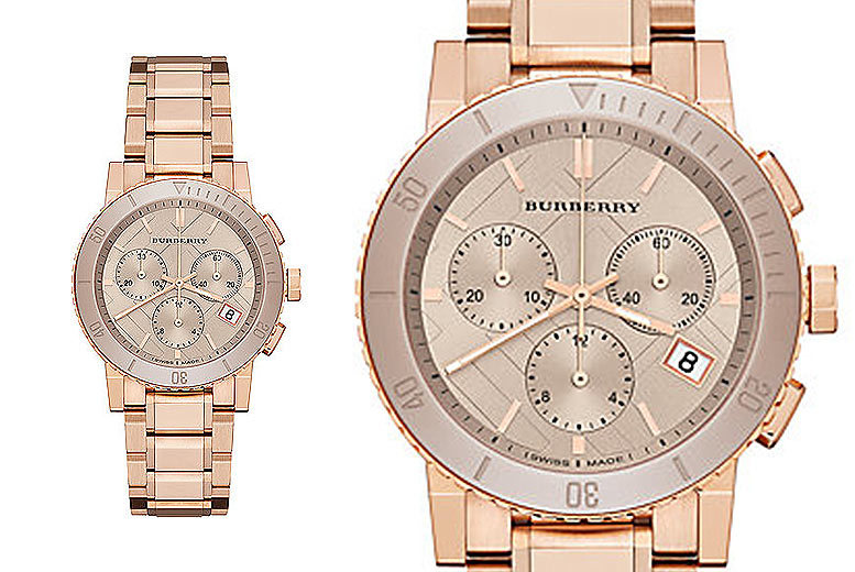£179 instead of £692.01 (from Gray Kingdom) for a Burberry BU9703 watch – save 74%