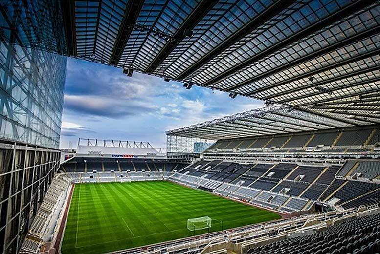 £30 for a 90-minute stadium tour of St James' Park for two adults from Buyagift – see the home of The Magpies from a unique angle!