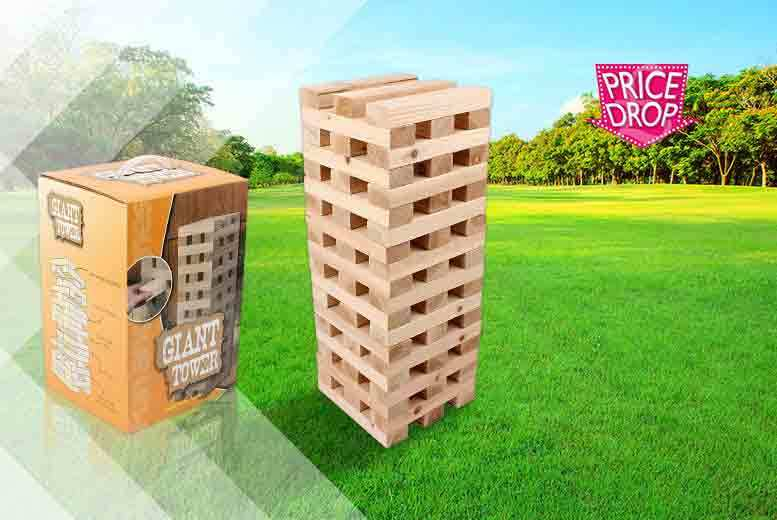 £12.99 instead of £43 (from ViVo Mounts) for a giant Jenga game - save 70%