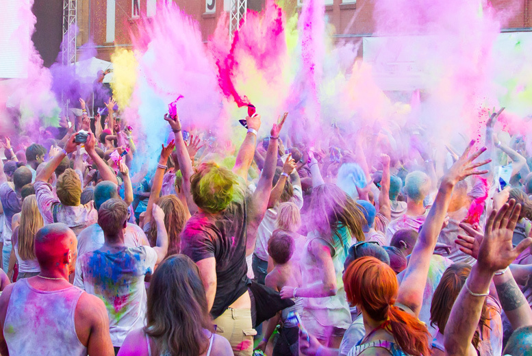 £12 instead of £25 for a ticket to the Harrow Festival and Holifest, £17 to include three bags of colour - save up to 52%