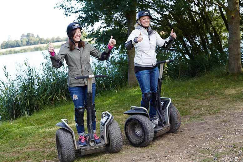 £19 for a Segway experience for one, from £38 for an experience for two, £99 for four with Segway Events - choose from 14 locations and save up to 44%