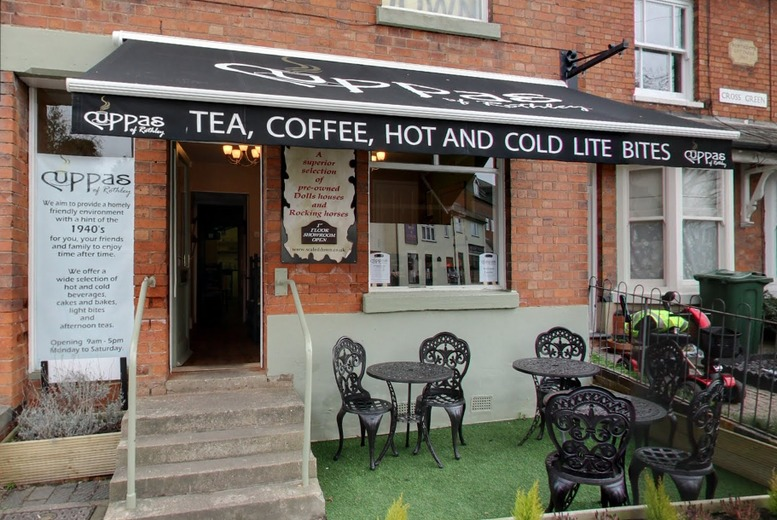 £13 instead of £27.90 for a chocoholics afternoon tea for two people with hot chocolate, scones and more at Cuppas of Rothley, Leicester - save 53%