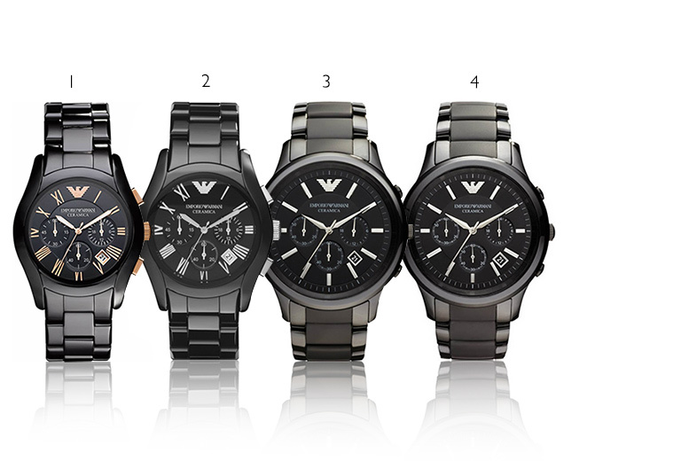 £149 instead of £494.01 (from Jacob Ekland) for an AR1410 Emporio Armani men's watch, £169 for the AR1451, AR1452 or the AR1400 - save 70%