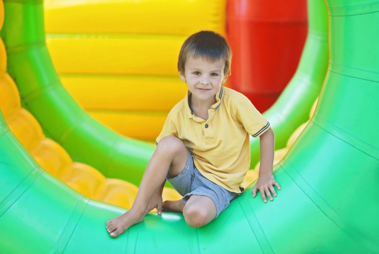 £6 instead of £11.98 for entry for two kids to the indoor Inflatable Fun City event, Royal Highland Centre - save 50%