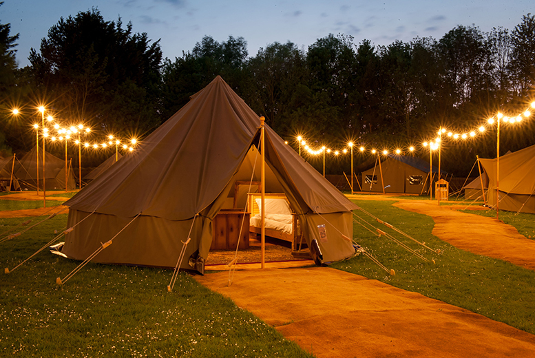 From £129 for an overnight Explorer Glamping break for a family of up to four with two-day entry to Chessington Theme Park, Zoo and SEA LIFE centre - save up to 46%