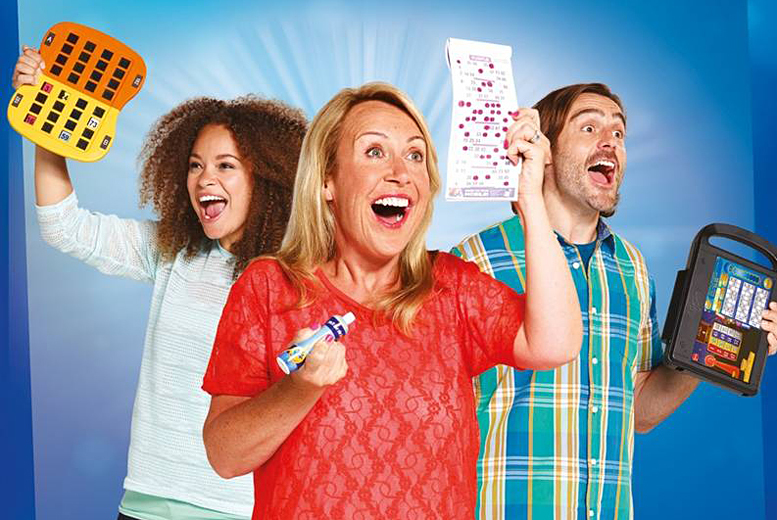 £5 instead of £24.90 for up to 10 games of bingo for two people including chips and a choice of one topping each at Gala Bingo - save 80%
