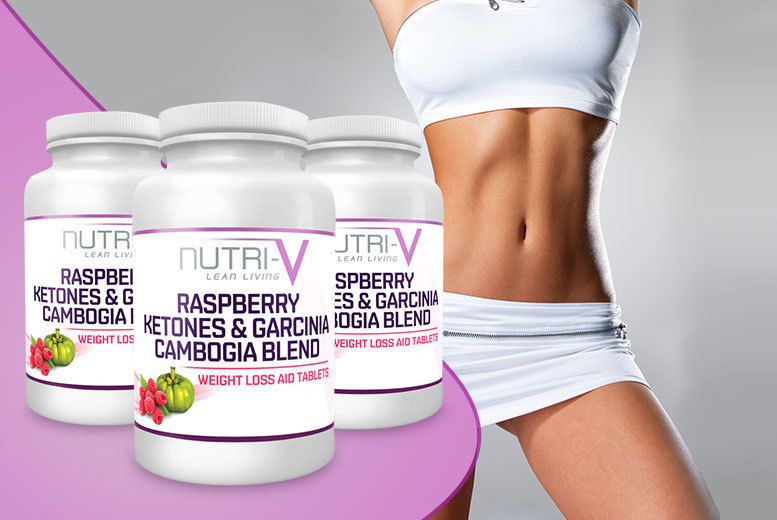 £17 instead of £119.97 (from Nutri-V) for a three-month* supply of raspberry ketone and garcinia cambogia capsules - save 86%