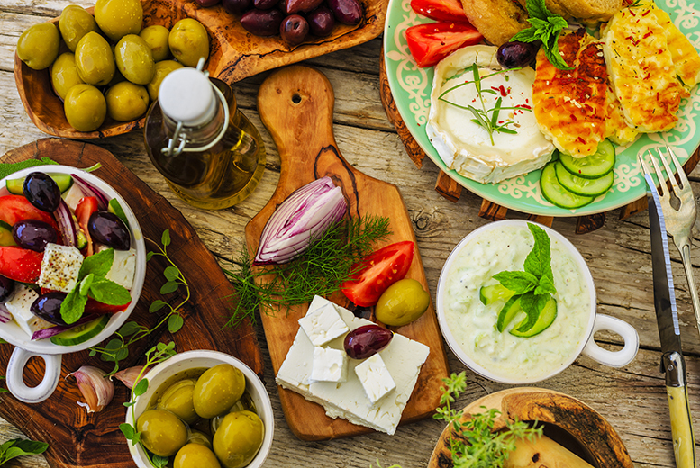 From £10.50 instead of up to £30.50 for a two-course Greek lunch with wine, from £13.50 for three courses at The Life Goddess, Carnaby Street - save up to 66%