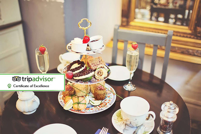 £19 instead of £42 for an afternoon tea with a glass of Prosecco each at City Wine Bar, Liverpool city centre- save 55%
