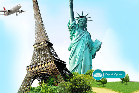 From £589pp (from ClearSky Holidays) for a two-night Paris and three-night New York break including flights and accommodation or pay a £150 deposit today - save up to 61%