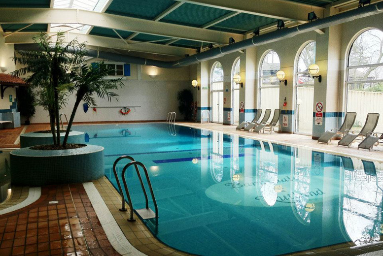 £55 instead of £120 for an overnight stay for two at Barnsdale Hall Hotel with breakfast and access to leisure and spa facilities, £92 for two nights - save up to 54%