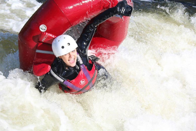 £16.99 instead of £35 for a 90-minute white water tubing experience at The National Water Sports Centre, Holme Pierrepont - save 51%