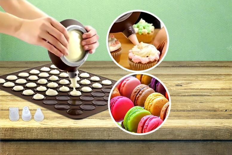 £4.99 instead of £17 (from CK Collection) for a five-piece macaron baking kit - get baking and save 71%