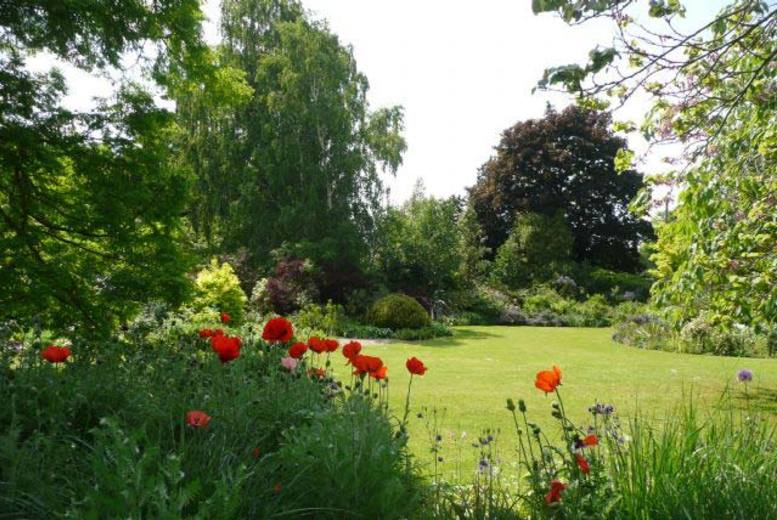 £7 instead of £16.50 for two entrance tickets with a tea or coffee each to Denmans Garden, Frontwell - save 58%