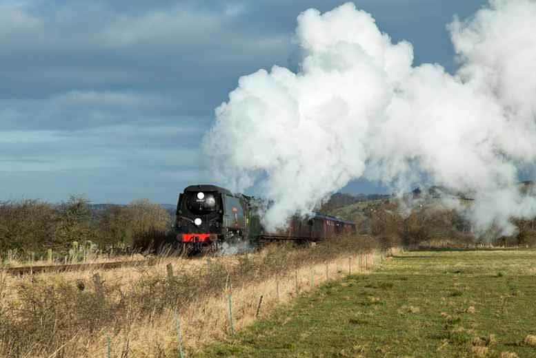 £16 instead of £30 for a family ticket to the Churnet Valley Railway steam train experience, Stoke-on-Trent - save 47%
