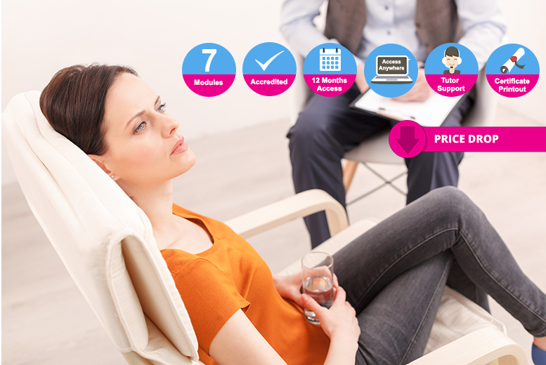 Accredited Mental Health Support Worker Online Course for £16.00