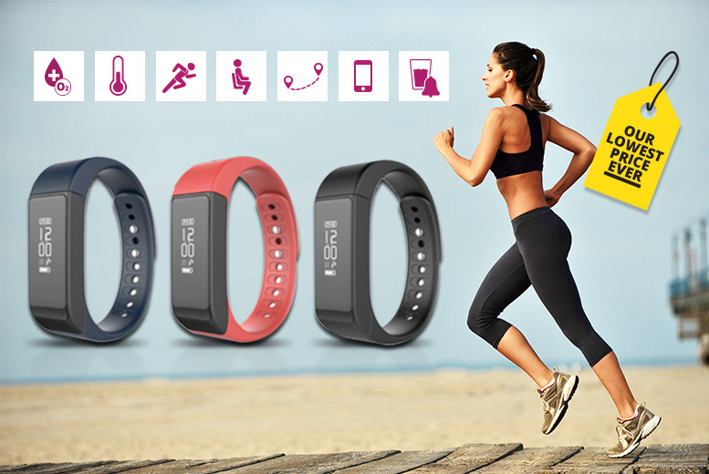 i5Plus Bluetooth Smart Watch & Fitness Tracker - 3 Colours!