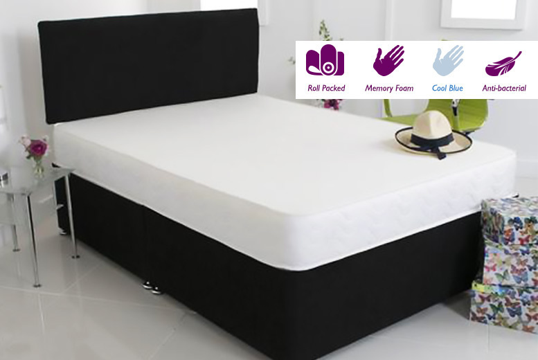 Extra-Thick Cooling Touch Comfort Memory Foam Mattress