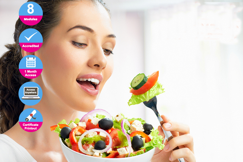 Accredited Online Nutrition Diploma