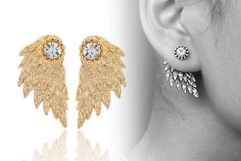 Angel Wing Earrings- 3 Colours!