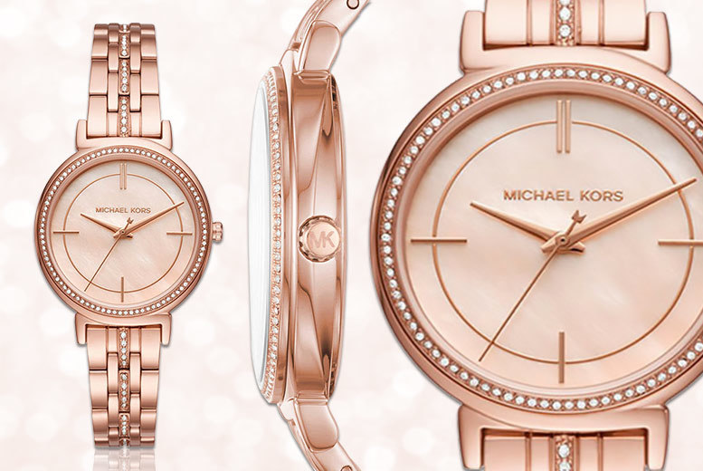 Ladies' Michael Kors Rose-Gold 'Cinthia' MK3643 Watch