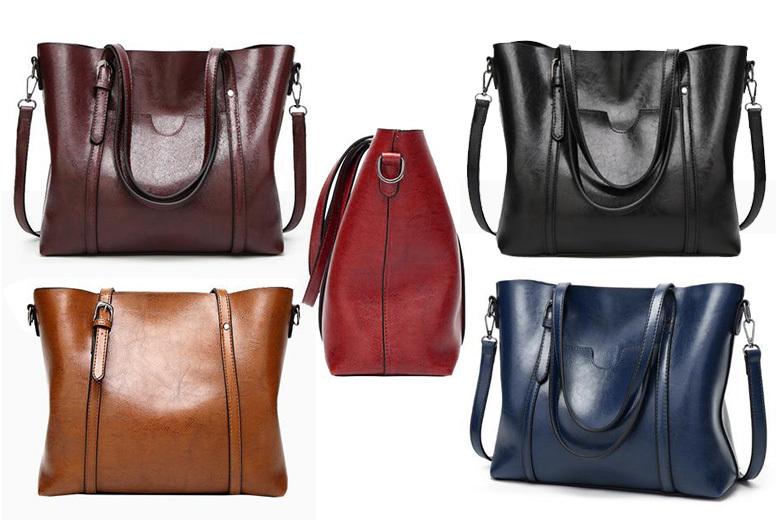 Leather Ciara Bag – 5 Colours! for £19.99
