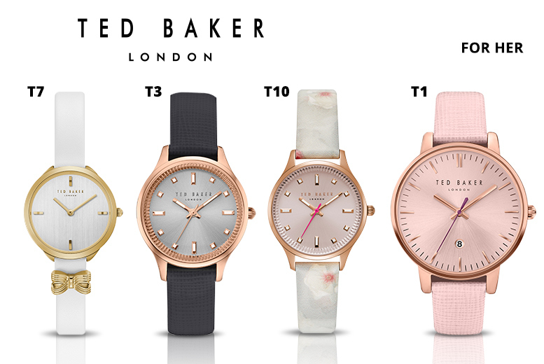 Ted Baker Watches - 15 Designs for Men and Women!