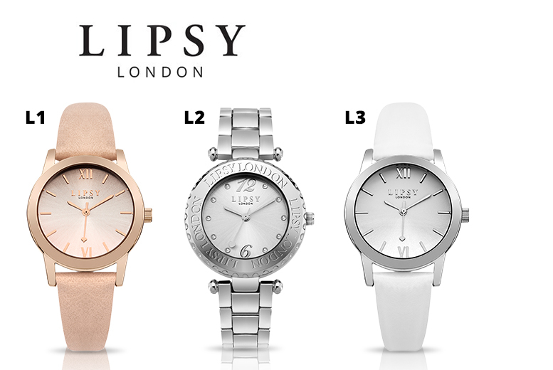 Lipsy Watches - 5 Designs!