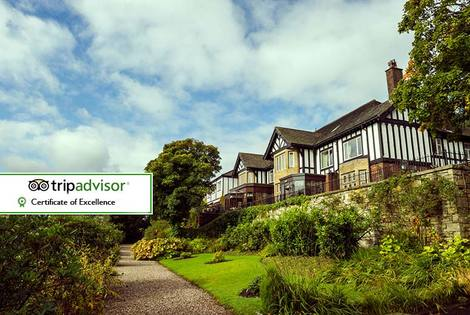 £69 (from Best Western Higher Trapp Country House Hotel) for an overnight stay for two people including a two-course dinner, Prosecco and breakfast - save up to 54%