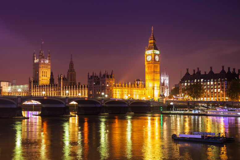 £7 instead of £10 for a child's ticket for a 90-minute London night bus tour, or £12 for an adult's ticket from See London By Night - save up to 30%