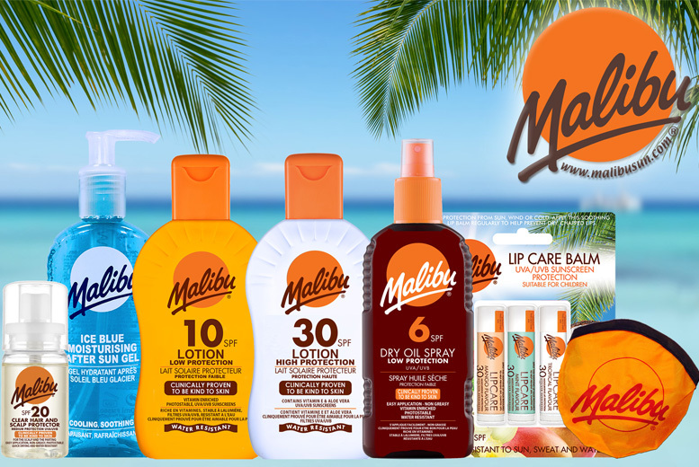 Malibu Sun Family Holiday Collection - 6 Products!