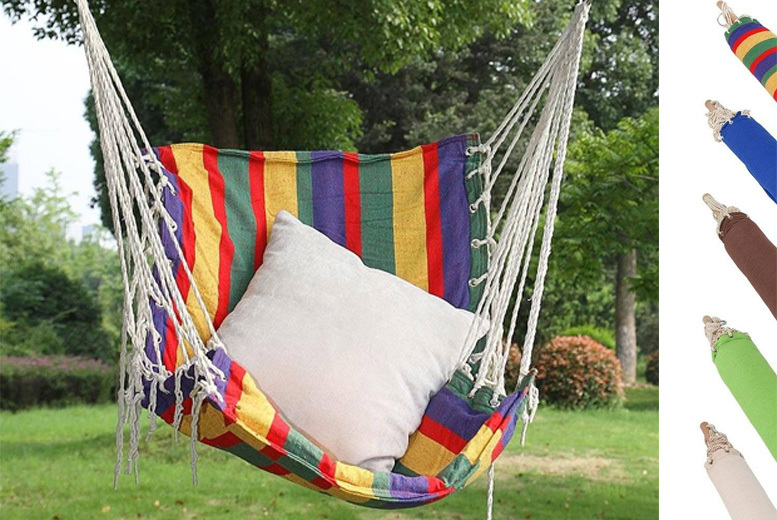 Outdoor Hanging Chair – 5 Colours! for £17.00