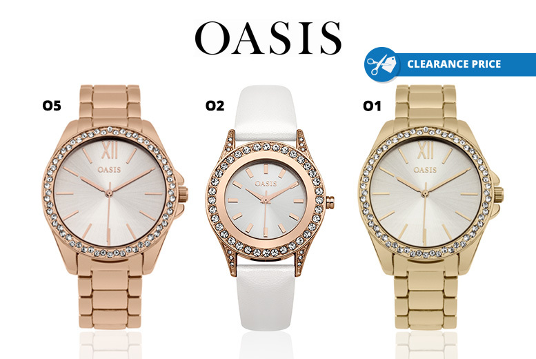 Ladies Oasis Watches - 11 Designs!