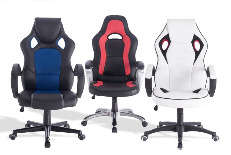 Racing Gaming Office Chair – 3 Options! from £59.00