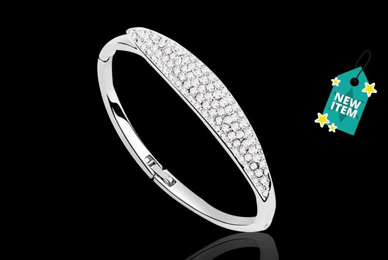 Crystal Twist Bracelet