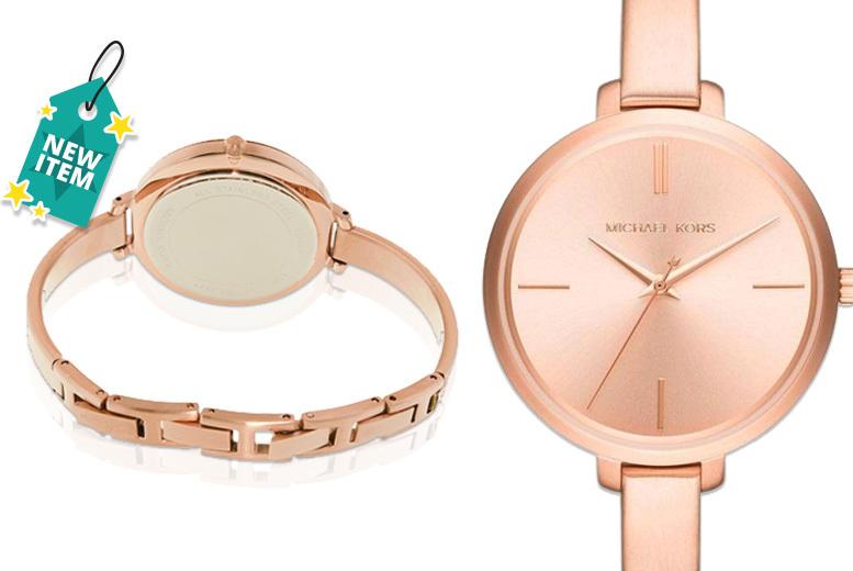 Michael Kors MK3547 Rose Gold-Tone Women's Watch