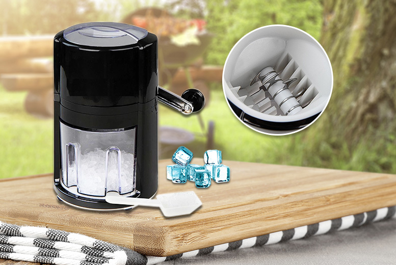 Ice Crusher – Perfect for Cocktails! for £13.99