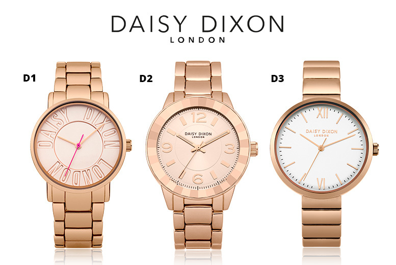 Daisy Dixon Rose-Gold Watches - 5 Designs!