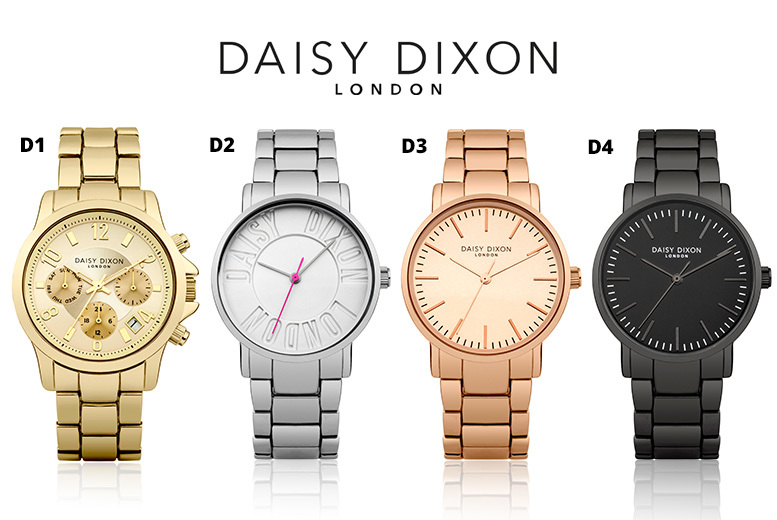 Daisy Dixon Stainless Steel Watch - 8 Designs!