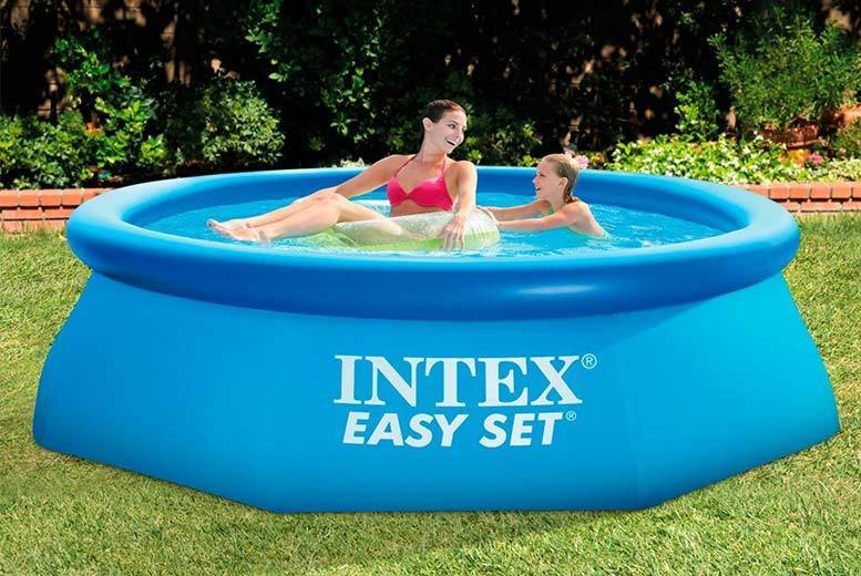 Intex Inflatable Swimming Pool – 3 Sizes! from £19.99