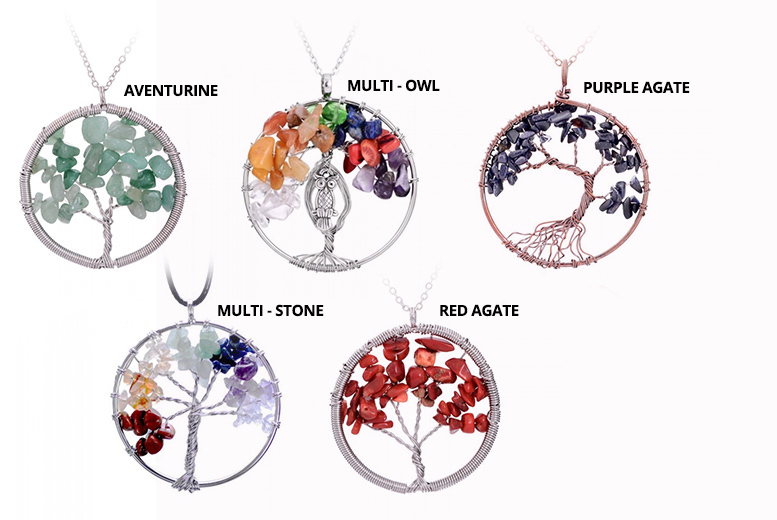 Tree of Life Pendant- 5 Styles!