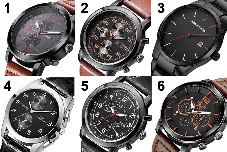 Hannah Martin Men's Watch - 12 Styles!