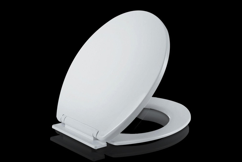 Soft Close Toilet Seat with Fixings for £8.99