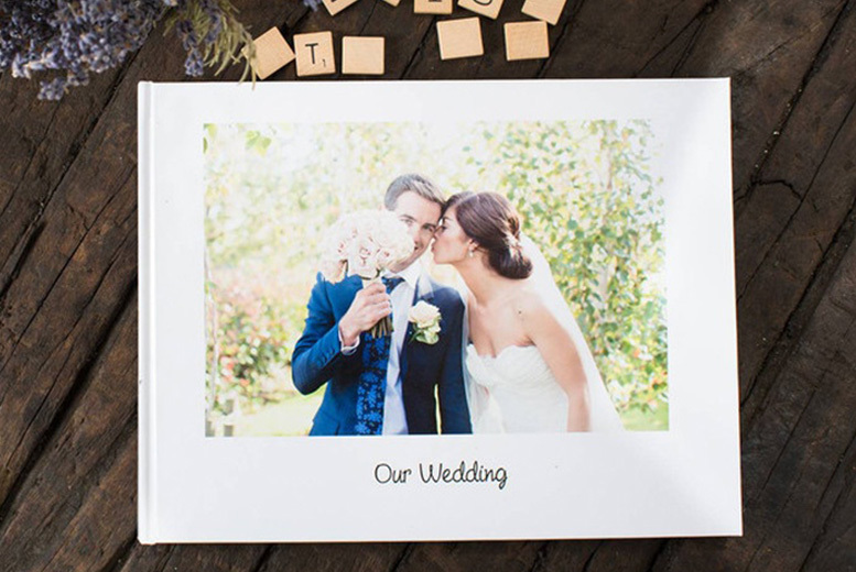 26-Page Personalised Hardback Photobook for £8.00
